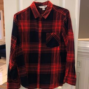 Old Navy Woman's Plaid Flannel